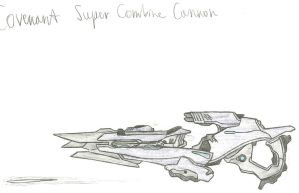 Covenant Super Combine Cannon by Chigiri16