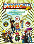 Despicable Heroes Search For The Mintendo-Cover by Kima-and-Jeorge