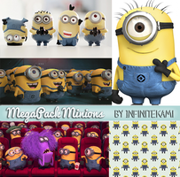 MegaPack Minions (Despicable Me) by InfiniteKami