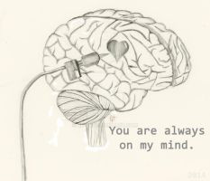 You Are Always On My Mind Sketch by Kit-C