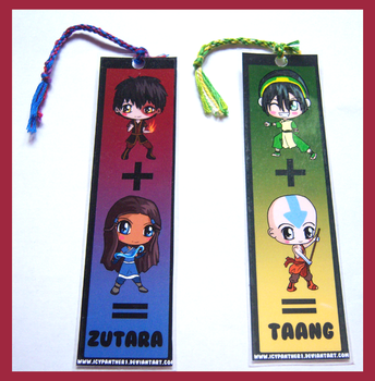 Avatar: The Last Airbender Bookmarks by IcyPanther1