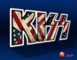 KIss Flag 3blu by medek1