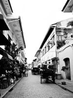 Along the Streets of Vigan by singkit