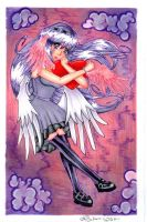 Angel Heart by SeraphimFeathers