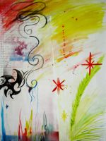 Scribble and Splatter by Raechi-Cherie