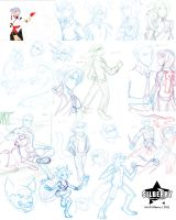 Sketch Dump - 2011 by Silberry