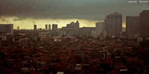 the darkness above jakarta by the-arkz