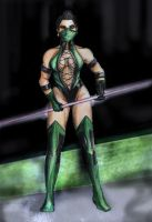 Jade Mortal Kombat Tribute by argeiphontes