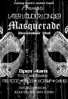 """L.L.L: Masquerade"" Flier by VHCrow"