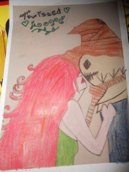 Poison Ivy and Scarecrow by Harleyquinn4850