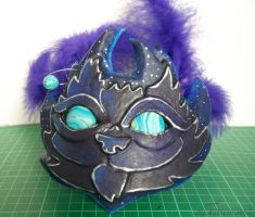 Midnight Cat Fascinator by YelZamor