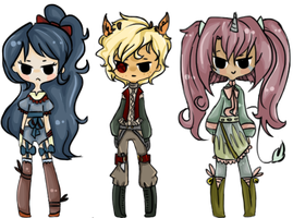 mixed adopt set fantasy [collab] 1 left by musament