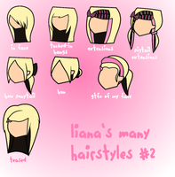 Liana's Many Hairstyles 2 by 8liana8