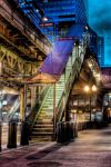 """Chicago """"L"""" Quincy Station by spudart"""