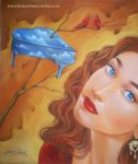 Portrait of Regina Spektor by ColomoArt