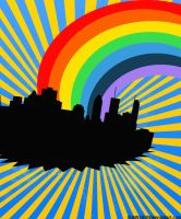 Rainbow City by Gunnshow