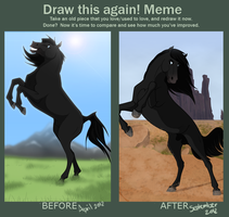 Draw this again -meme- by faithandfreedom