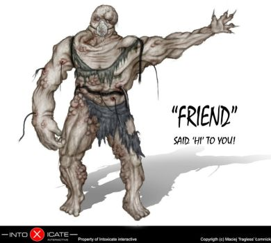 Mutated Friend by fragless