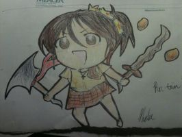 chibi philippines oc by lucy1735
