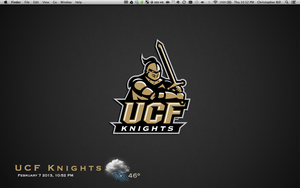 University of Central Florida Live Wallpaper by Orangedog22