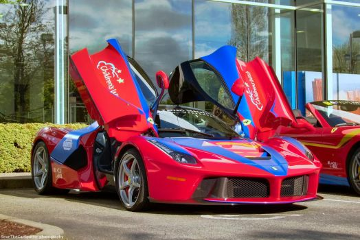 LaFerrari Butterfly doors by SeanTheCarSpotter