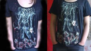 Lordi (Tour Beast or Not Tour Beast) T-shirt by Ufekkk007
