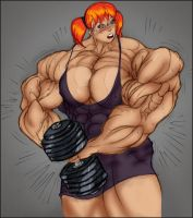 Working out - steroids effect by rssam000
