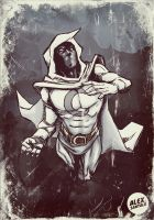 Moon Knight by alexsantalo