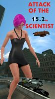Attack Of The 15.2m Scientist by milizeelashee