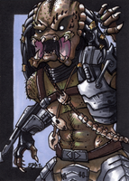 Predator Commission by Jace-Mereel