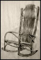 rocking chair by ShallowGrin