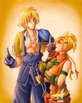 Tidus And Rikku by Jeff-Mahadi