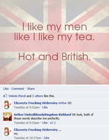 Hetalia Facebook: Hot and British by Arthur-UK-Kirkland