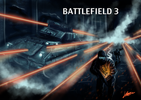 Battlefield 3 Speedpaint  - V2 by jkasapi