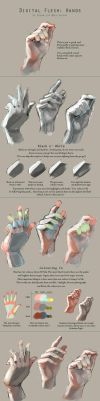 Realistic flesh colours by dream-cup
