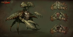 Crab Witch Concept by Benef