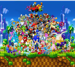 Sonic and his Friends, Rivals, and Enemies Final3 by 9029561