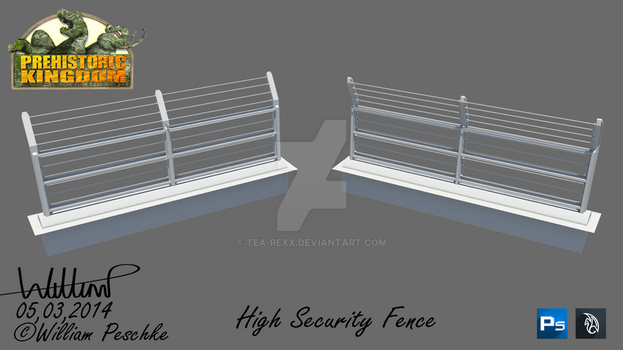 PK High Security Fence by Tea-rexx