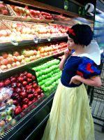 Snow White: Shopping for Apples by CrazyHarrison