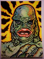 Creature Sketch Card by Mr-Mordacious