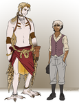 Meet Kaw and Landon by LittleNightingale