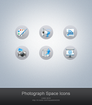 Photograph Space Icons by aipotuDENG