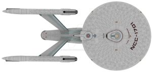Ncc1701 USS Enterprise by EcorynV