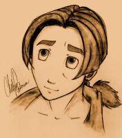Jim Hawkins- portrait by ShinjiObsessed
