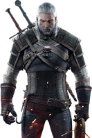 The Witcher 3 - Geralt Render by Ashish913