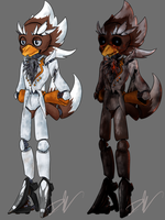 FNAF Terry - Day and Night versions by speedytheneedlemouse