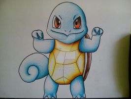 Squirtle by Vongxm