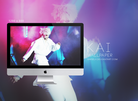 EXO Wallpaper: KAI - 001 by sarielk