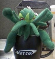 Cthulhu Guards Mom's Coffee by sivrel