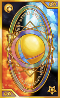 Smash Bros - Tarot and Clow Card inspired Back by Quas-quas